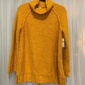 Anthropologie turtleneck with flare sleeves